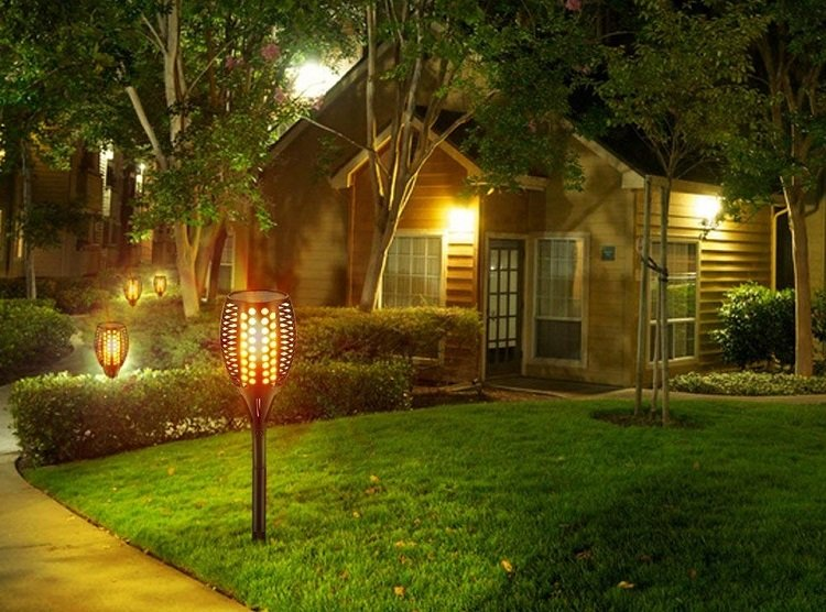 Outdoor Solar Powered Lights