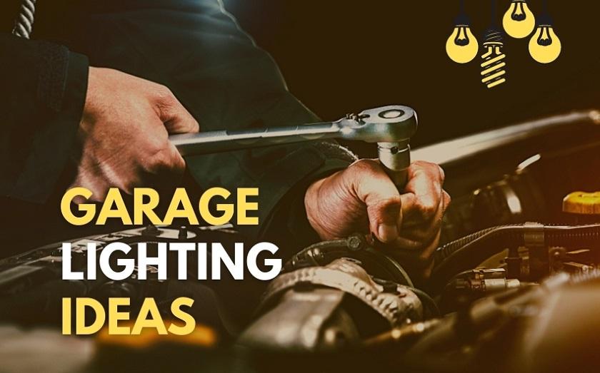 garage lighting ideas LED