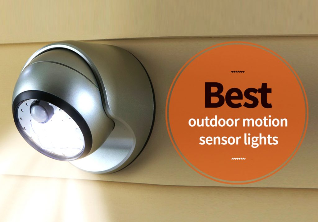 outdoor garden motion sensor light
