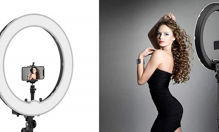 How to pick the Best ring light for streaming, webcasting
