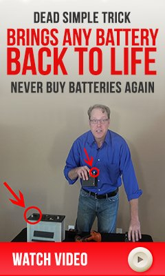 fix old batteries